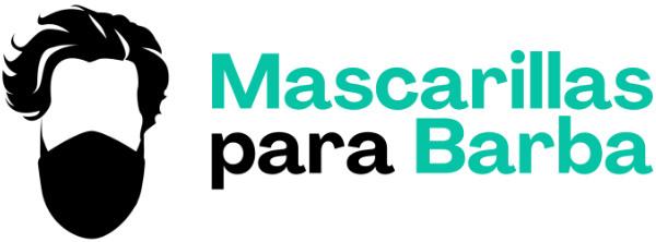 Logotipo con letras de Mascarillas para Barba
